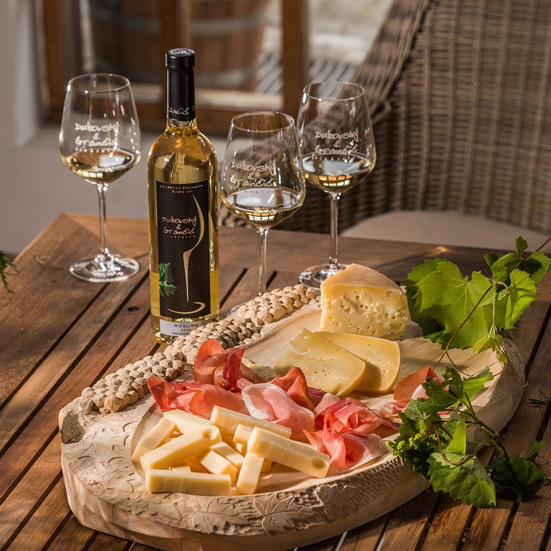 Degustácia vína DUBOVSKÝ & GRANČIČ, Svätý Jur