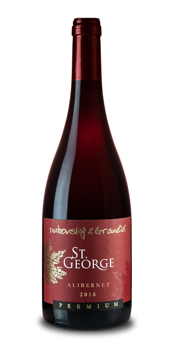 Víno St. George Alibernet 2018