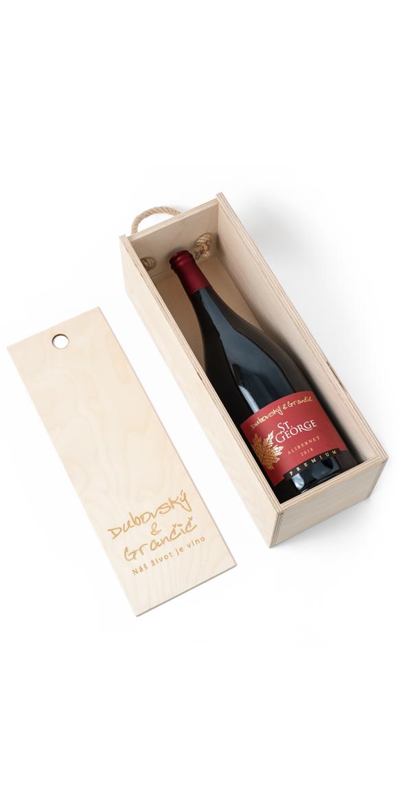 Víno St. George Alibernet MAGNUM 2018