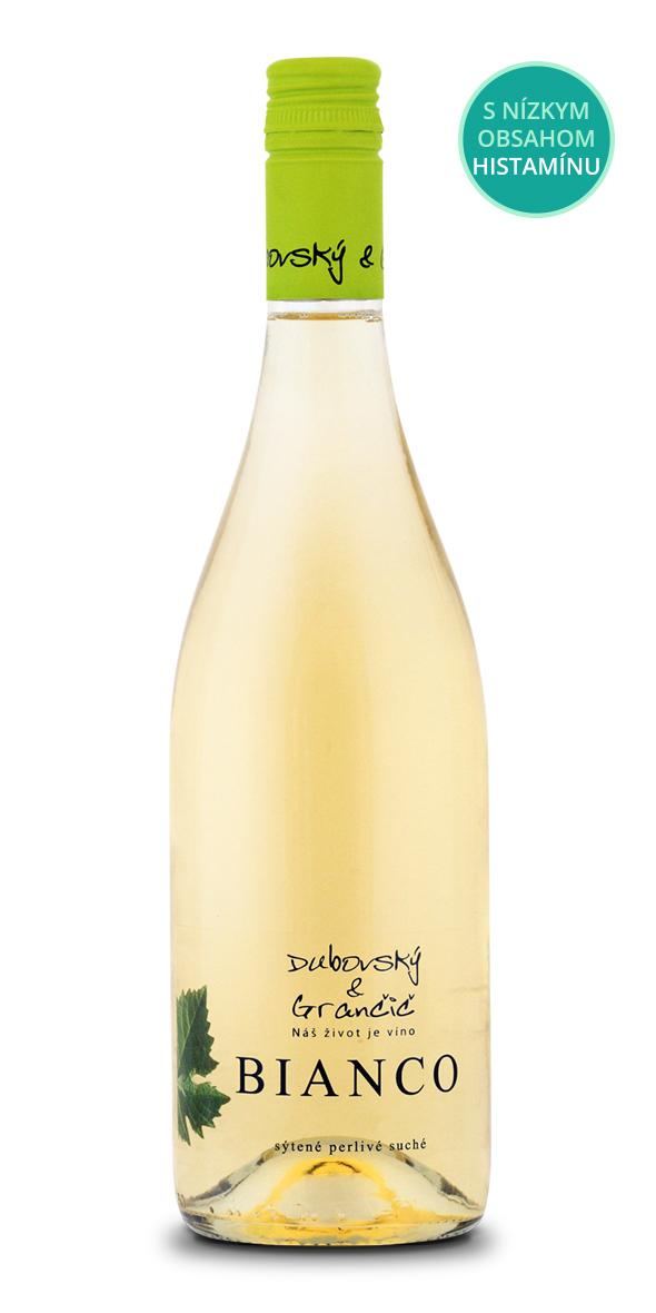Sýtené perlivé víno biele BIANCO