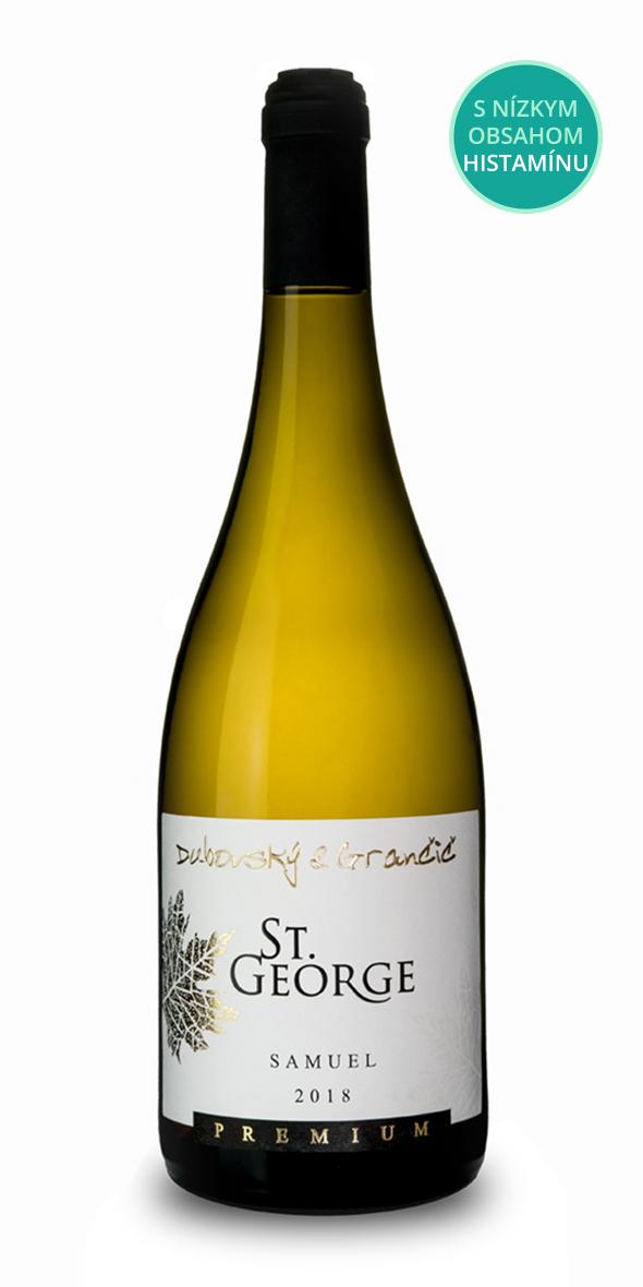 Víno St. George Samuel 2018