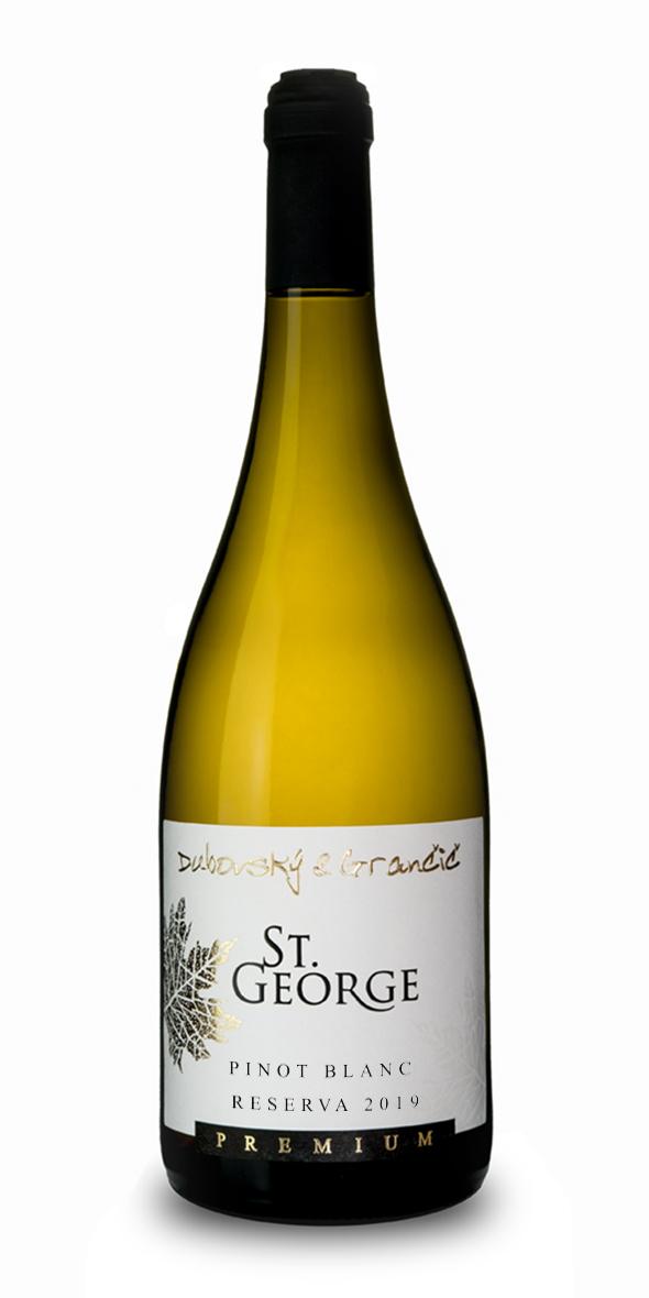 Víno St. George Pinot Blanc Reserva 2019
